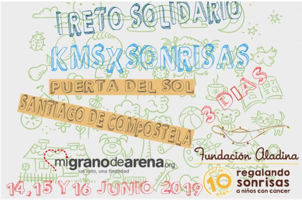 I Reto Solidario KmsxSonrisas SantiagoEn3Dias